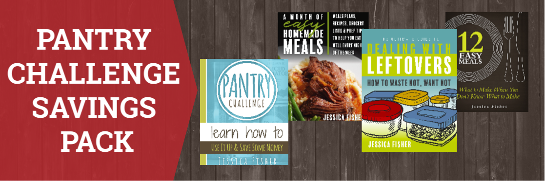 Pantry Challenge Savings Pack-4