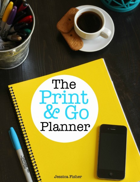 print&go planner circle cover