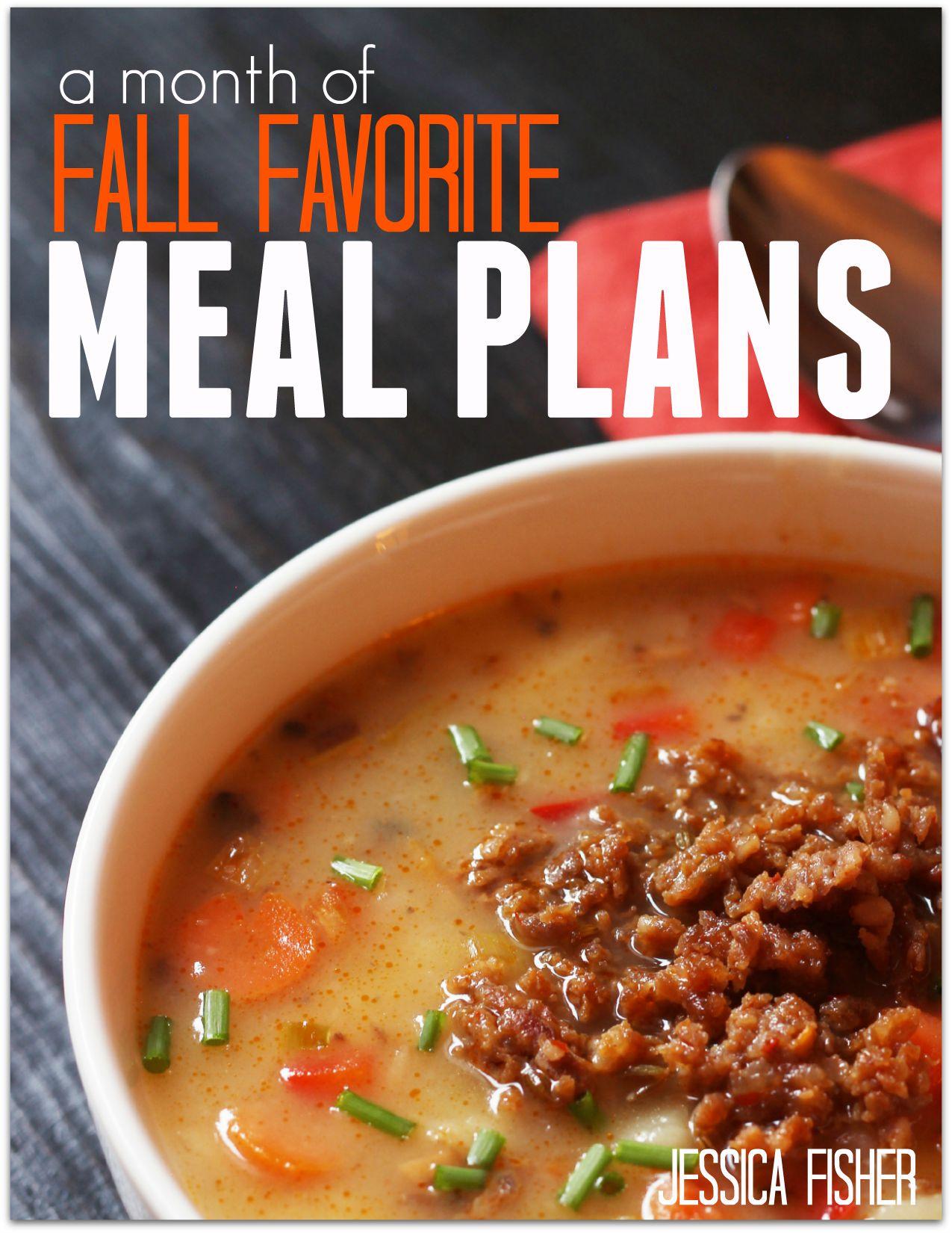 Fall-Meal-Plan