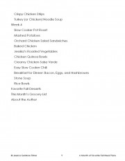 Fall Meal Plan TOC 2