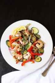 Shrimp and Vegetable Stir fry GCE