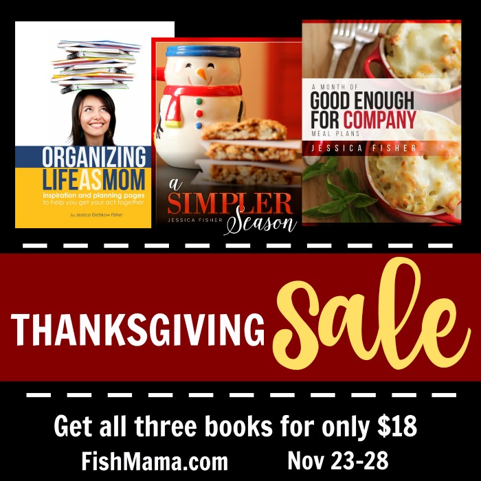Thanksgiving Bundle Sale